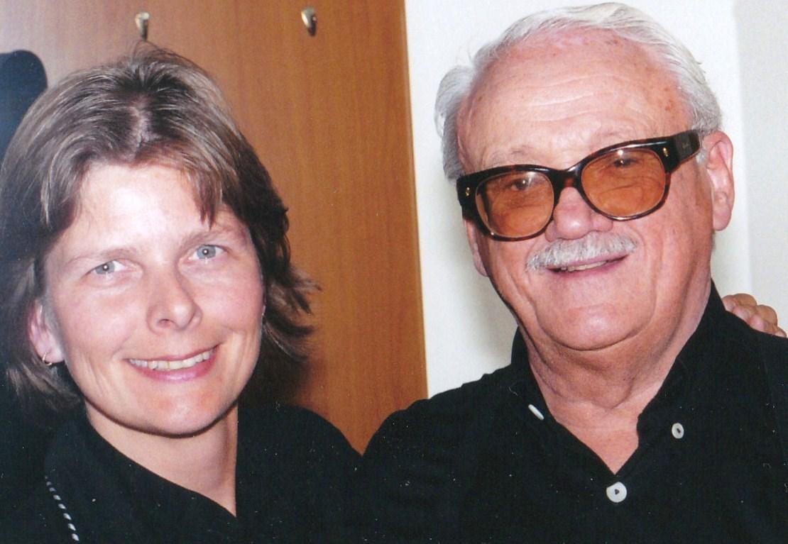 Toots Thielemans en Simone Vierstra